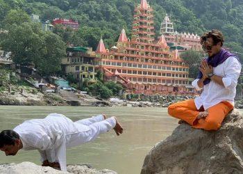 Representantes de Centroamérica e India juntos en Rishikesh, India